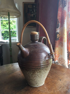 Wiama Pottery Wine Flagon (1970s)