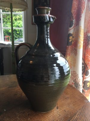 Waiama Pottery Wine Flagon (1970s)